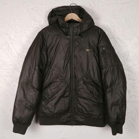 Él mismo Pato Humano  Nike Jackets & Coats | Nike Mens 55 Fill Down Puffer Hoodie Jacket |  Poshmark